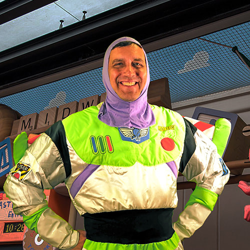 Jason Rimkus as Buzz Lightyear